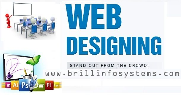 Brill Infosystems is the best web #designing #training institute offering courses allow you to learn how to start #webdesigning and advance your career.