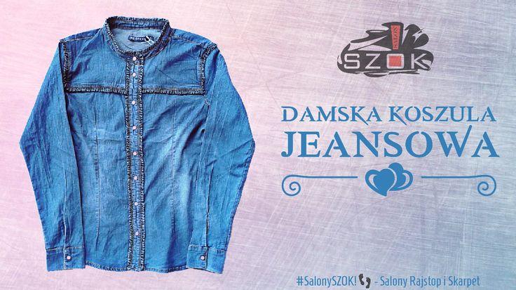🔴 Zapraszamy do Naszych #SalonySZOK!👣 gdzie czeka na Was ogromny wybór #koszul #jeansowych w szerokim zakresie rozmiarów. 💯😍