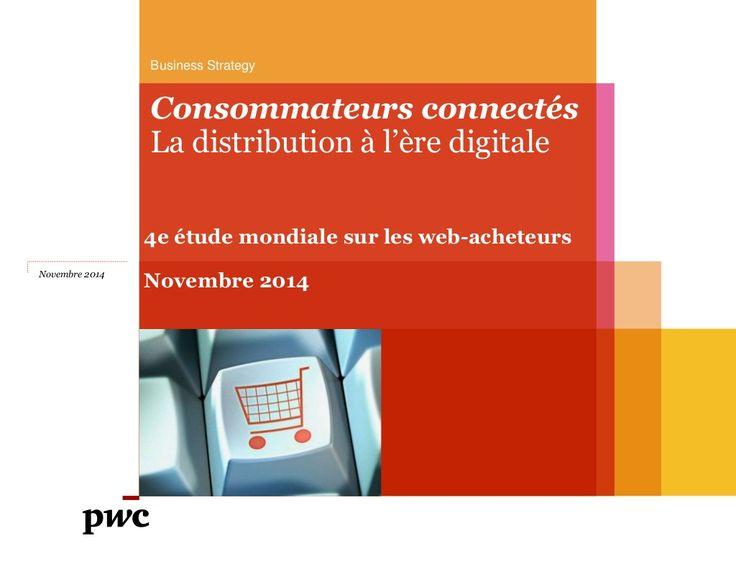 Etude PwC sur les web-acheteurs (nov. 2014).