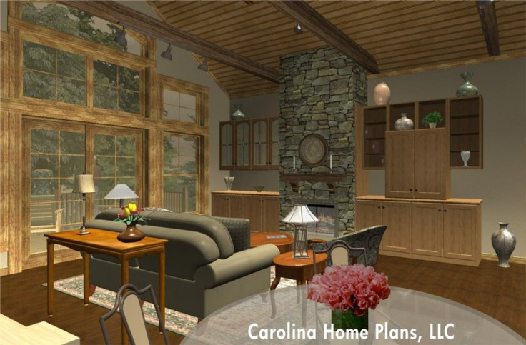 Spacious and efficient one story house plan for empty for Empty nester house plans with basement