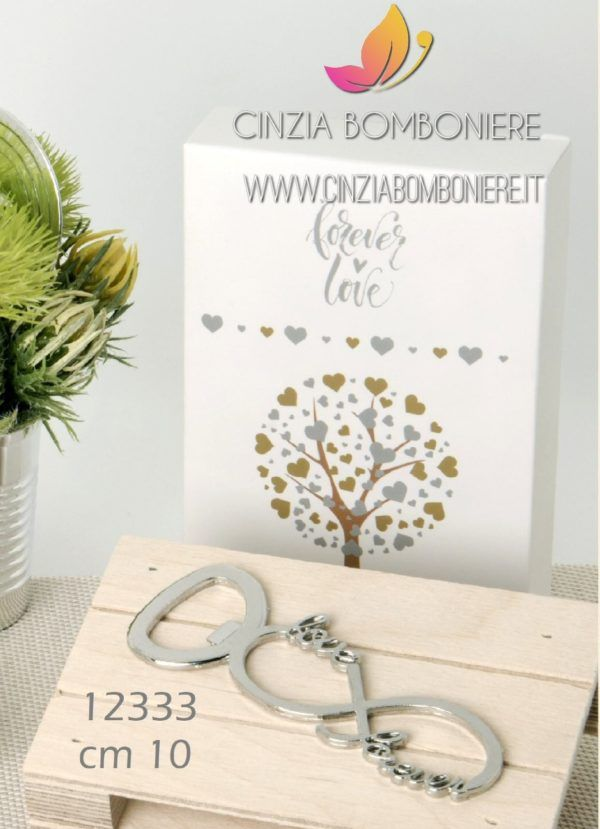Segnaposto Matrimonio Utili.Apribottiglia Love Infinito Cb12333 Nel 2020 Bomboniere