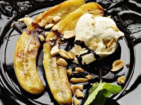 Banana split special – receptet från New Orleans