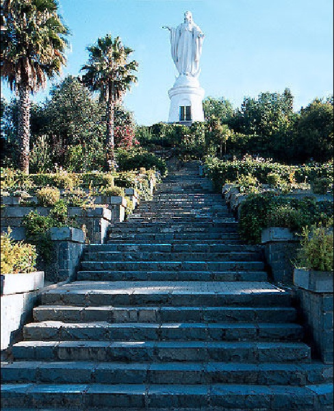 Cerro San Cristòbal, Santiago de Chile