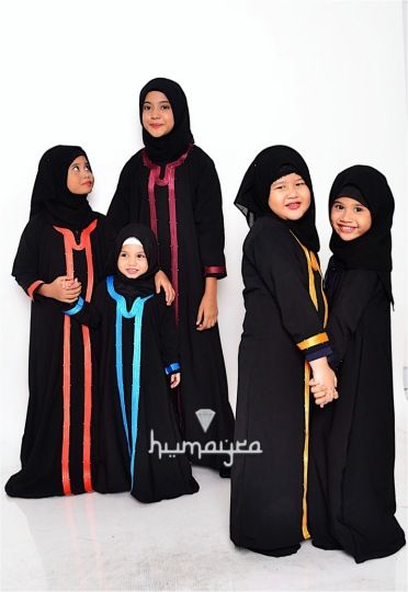 www.humayrapl.com. Kids abaya available.