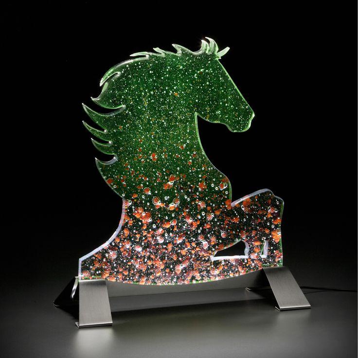 Title: Il Cavallo arabo – Year: 2013 – Size: 30x33x12,5 cm – Design by Leo Zaff