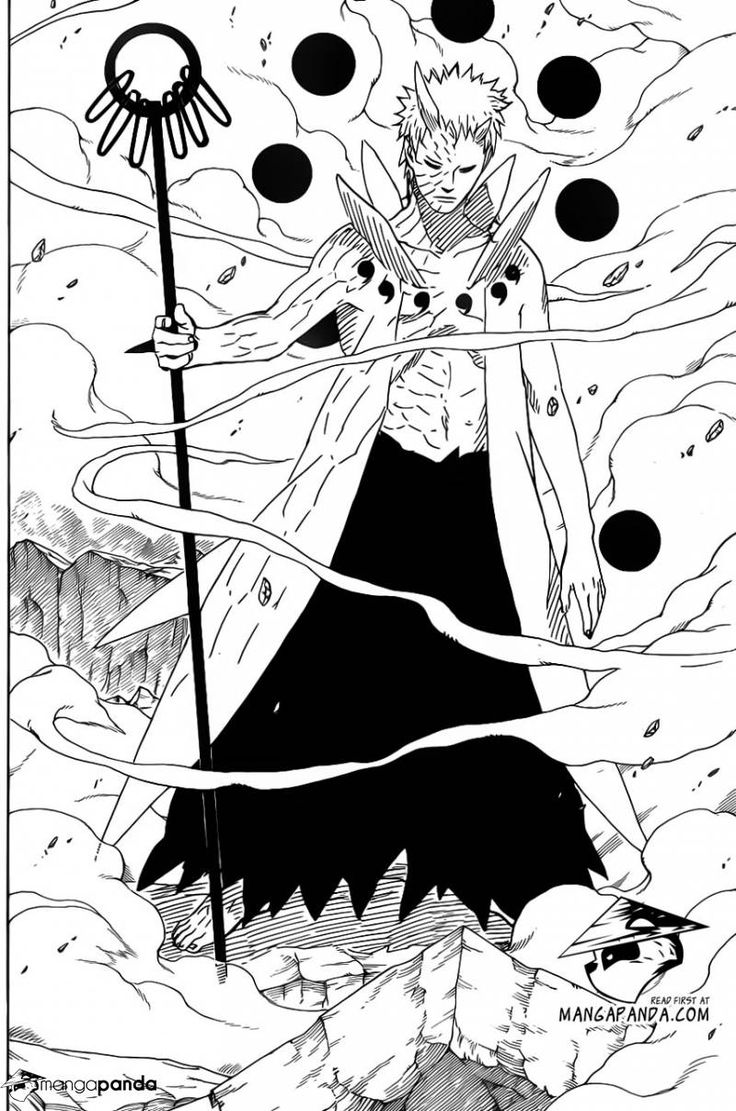 Obito in his new form!  Naruto chapter 640.