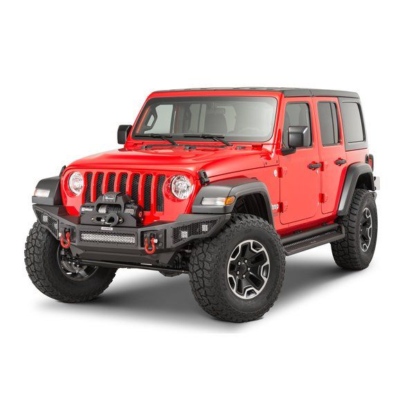 Go Rhino 331200t Rockline Winch Ready Front Bumper For 07 20 Jeep Wrangler Jl Jk Gladiator Jt Jeep Wrangler Wrangler Jl Jeep