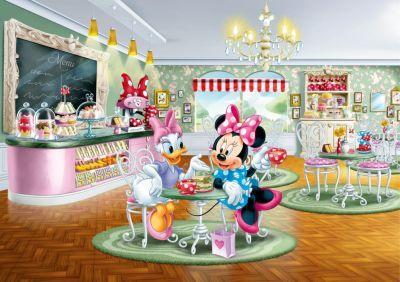 Fototapet cu Minnie si Daisy