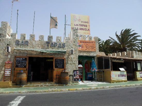 Asador Las Tapas De La Abuela, Costa Calma - Fuerteventura July 2015