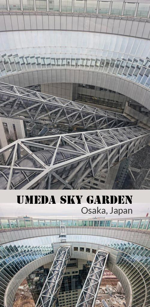 A guide to the Umeda Sky Building in Osaka, Japan