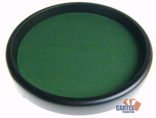 Piste de dés (33 cm/plastique): Fabricant : Vauchier Playbox; Diamètre : 33 cm Piste de dés en plastique. Règles du jeu Yam's incluses.…
