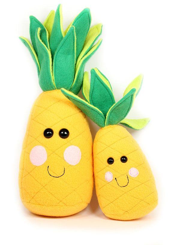 Pineapple Plush Toy Life Size Pineapple Stuffed Toy