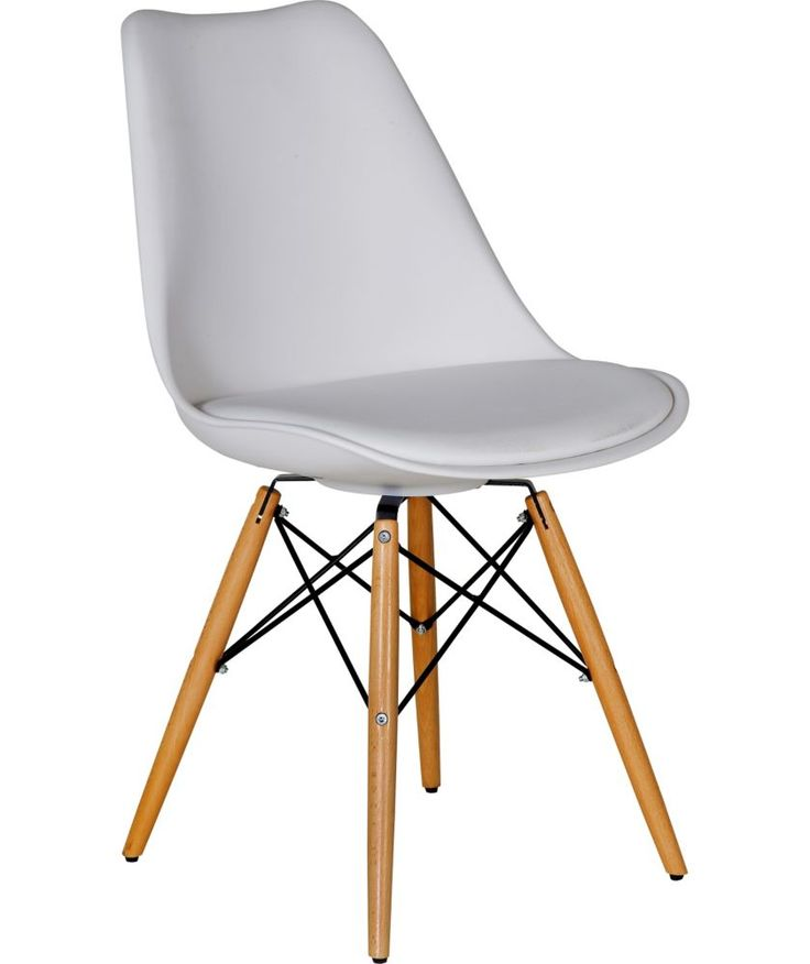 Buy Hygena Charlie White Chair at Argos.co.uk - Your ...