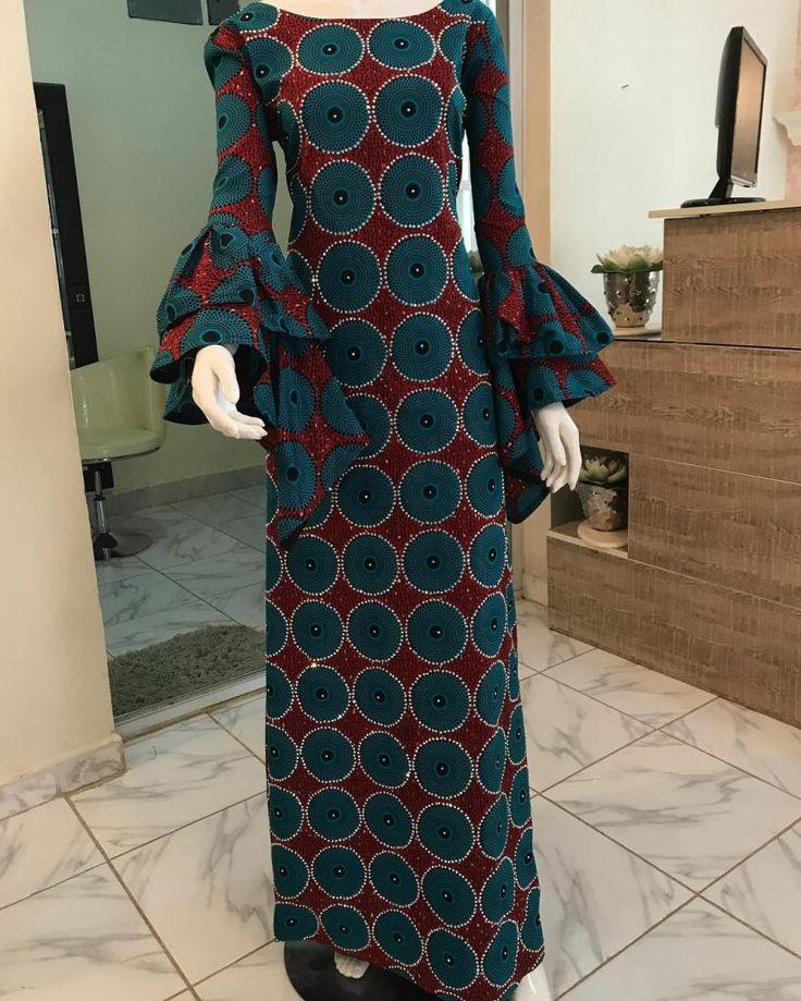 Unique Ankara Styles For Beautiful Ladies