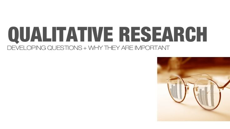 Qualitative Research Questions and Methodology