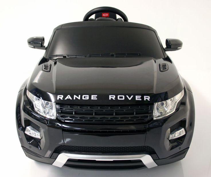 Kids Electric Car Range Rover Evoque Black Range Rover