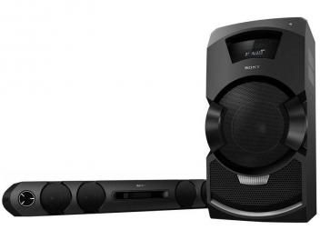Mini System/Soundbar Sony Leitor de DVD - Função Karaokê c/ USB MP3 e Bluetooth MHC-GT3D