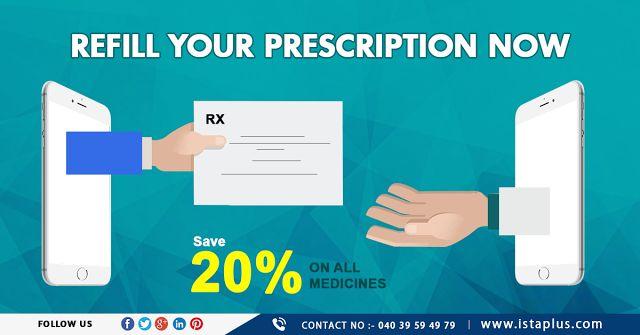 Ista: #Refill #your #prescription #now #save #20% on #al...