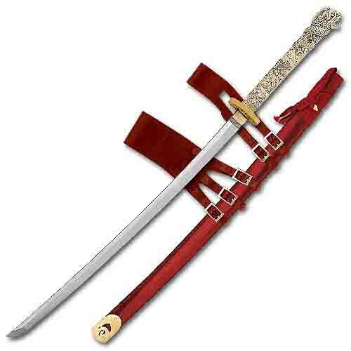 Highlander movie, Connor MacLeod Forged Katana Sword - also favored by Chicagoland vampires...