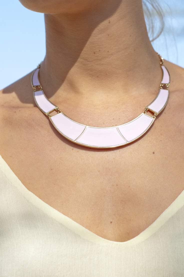 pastel necklace  www.FashFW.blogspot.com