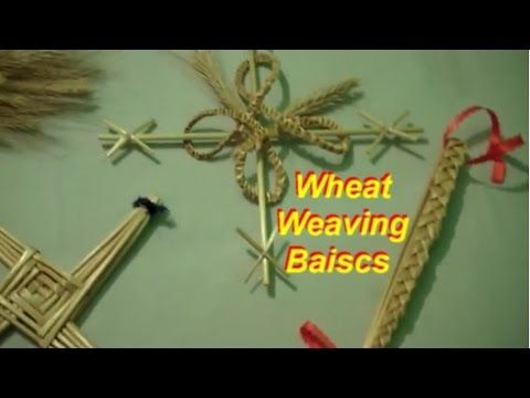 In order to weave with wheat, there are a few basics things that will be required for any weaving you choose to do. This tutorial shows those basics. Once yo...