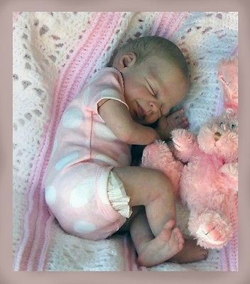 SUNSHINE reborn baby doll kit by Marita Winters rare SOLD OUT. Ltd ed 118/600