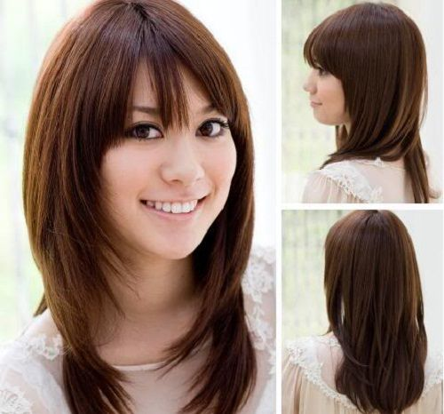 Best Long Haircuts Images On Pinterest Long Hair Long - Hairstyle for asian ladies