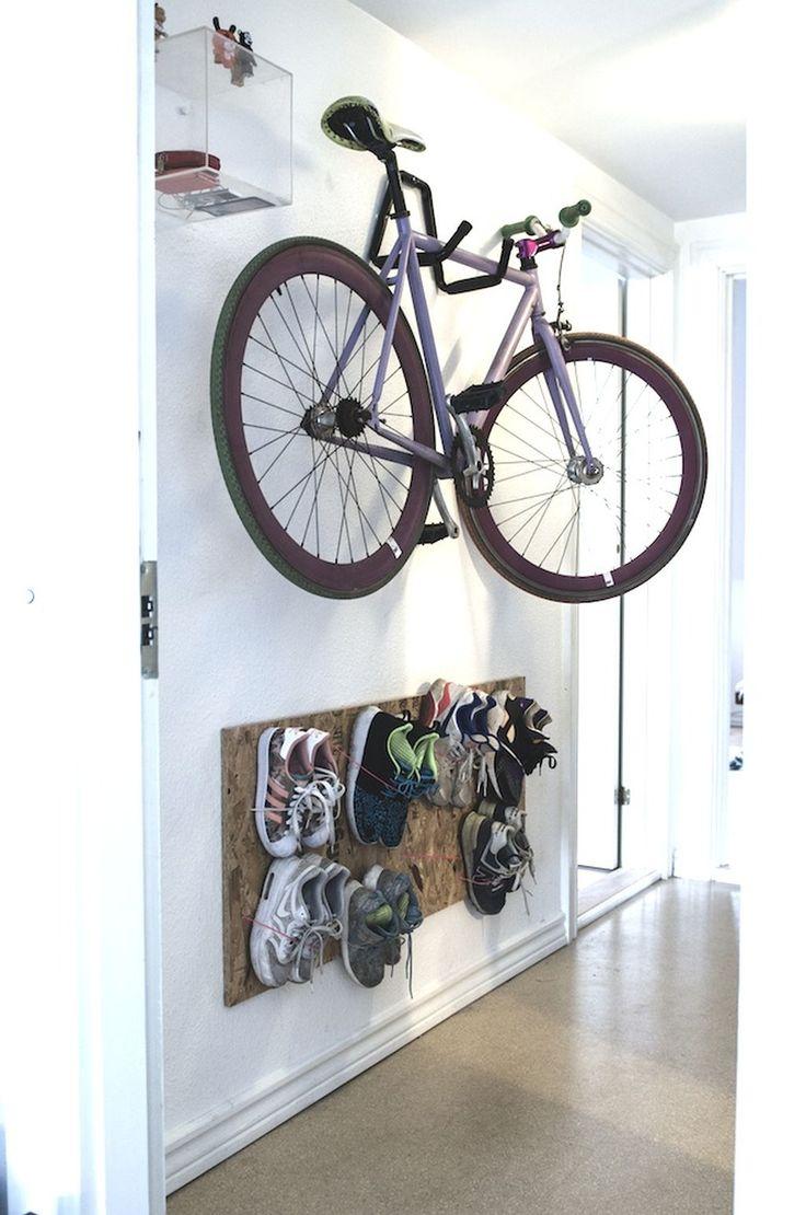 Best 25+ Bike storage apartment ideas on Pinterest | Wall bike rack, Bike  storage and Bike wall hooks