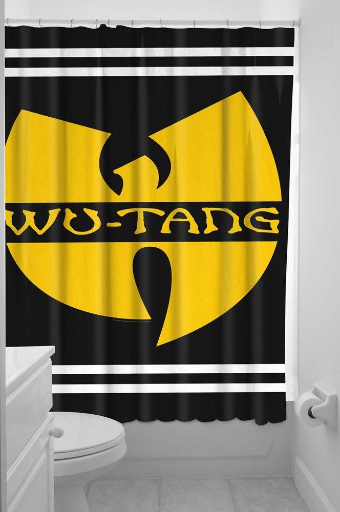 SOURPUSS WU-TANG SHOWER CURTAIN