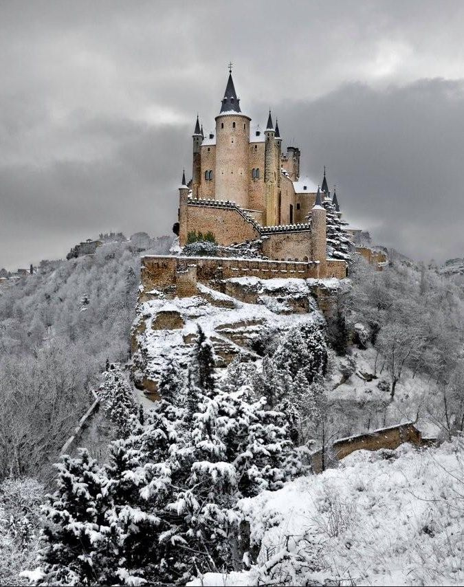 Alcazar de Segovia, Spain - check