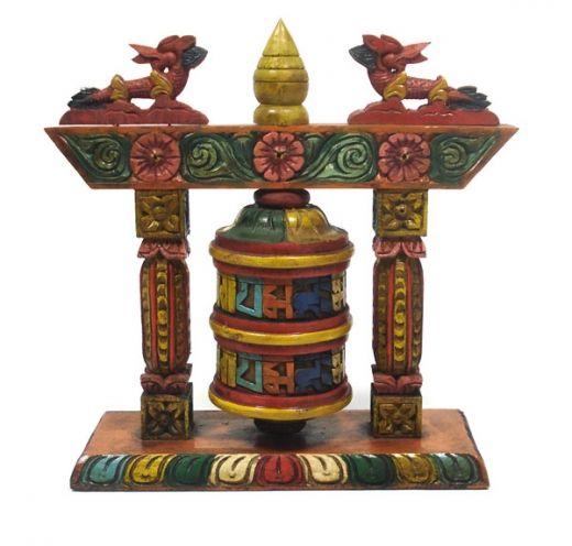 Buddyjski młynek modlitewny Budda Buddyzm
