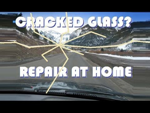 How To Repair A Cracked Windshield Like A Pro For Around $20 - The Good Survivalist