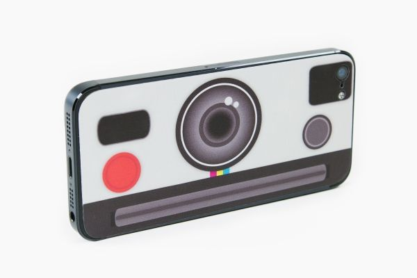 The Instant Camera iPhone Decal - The Photojojo Store!