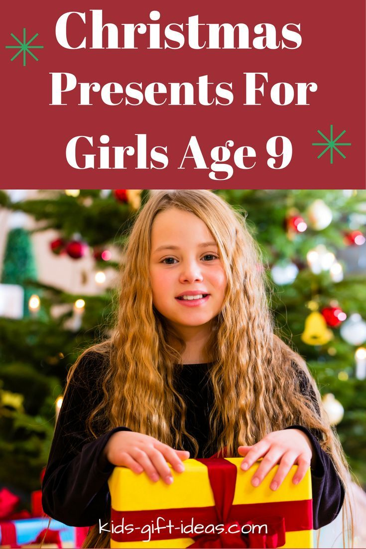 Helpful list of Christmas Presents for Girls Age 9.  Top toy presents, electronic presents, hands on building and crafting presents for 9 year old girls.