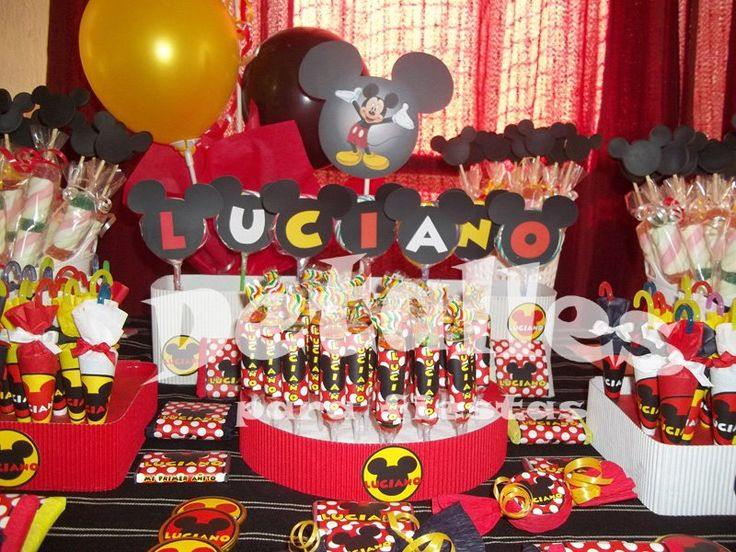 17 best images about lugares para visitar on pinterest - Fiesta tematica mickey mouse ...
