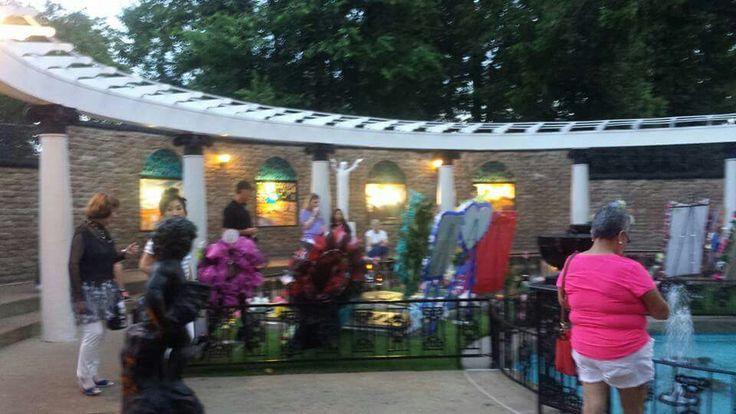 Elvis Presley's Graceland Meditation Garden  Elvis Week 2016