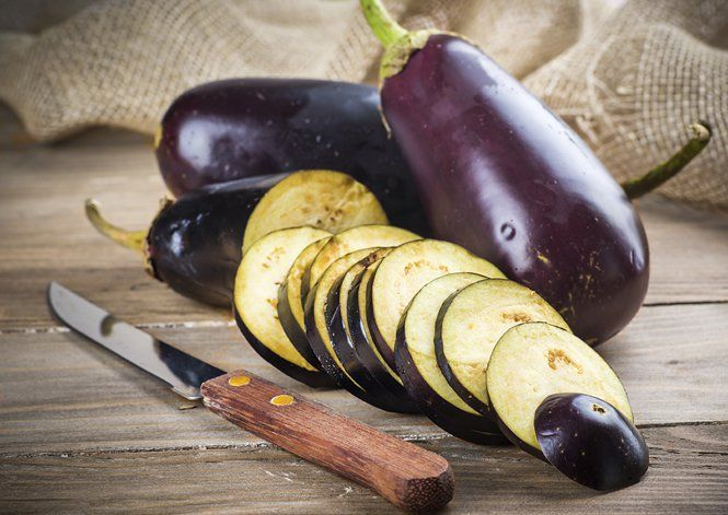 Learn how to choose, prepare and cook an aubergine, including how to grill, roast, fry/sauté and microwave an aubergine.