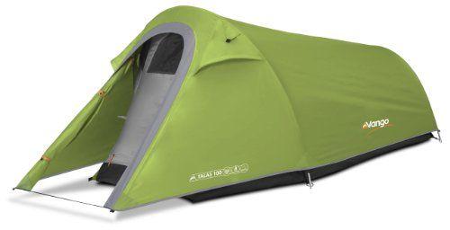 Vango Talas 100 One Man Tent-1 Person - Tiendas de campaña de túnel, color verde, talla NA