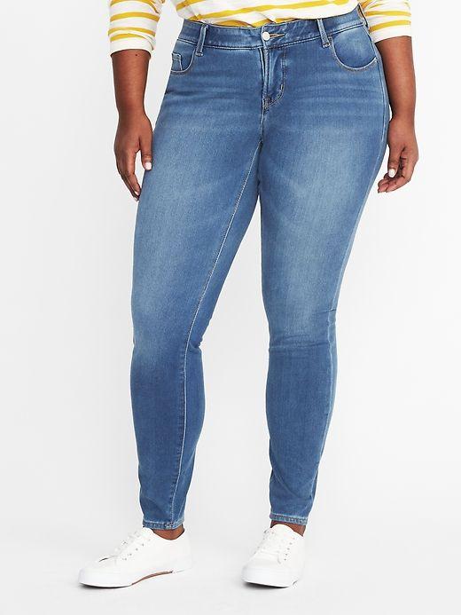 High Rise Smooth Contour Rockstar 24 7 Plus Size Jeans