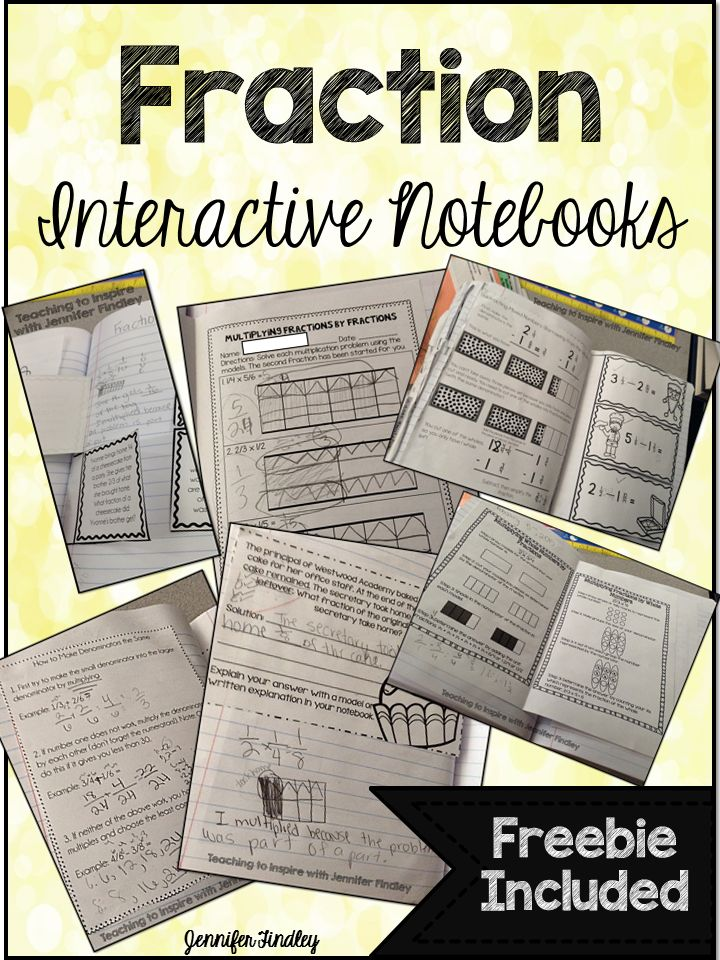 Blog post with lots of pictures of what can be included in a interactive notebook for Fractions. Click to see lots of examples: http://teachingtoinspire.com/2015/03/what-can-you-put-in-interactive.html