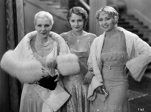 Natalie Moorhead, Barbara Stanwyck, & Joan Blondell in Illicit (1931)