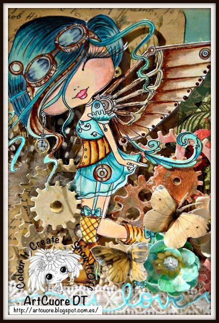 ArtCuore  : Mi hada Besties Tm STEAMPUNK por Sherri Baldy