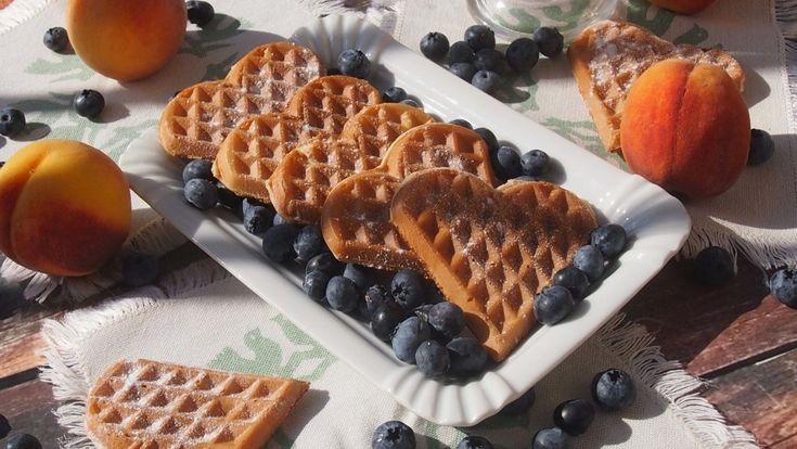 Pyszne gofry drożdżowe / delicious yeast waffles