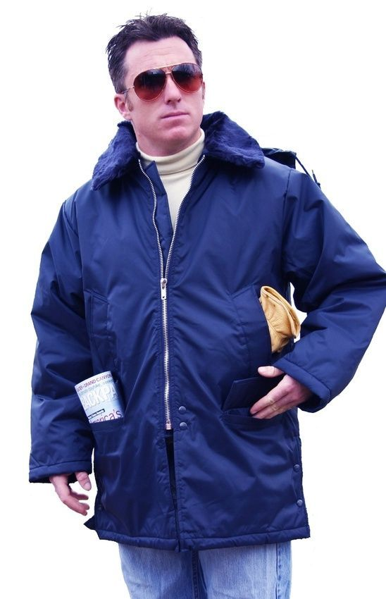 Men's Winter Parka with Removable Zip-Off Hood