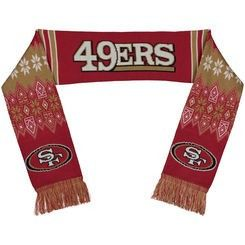 San Francisco 49ers Official NFL Lodge Scarf
