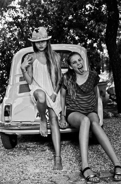 Thylane Blondeau pour Swildens Teen printemps-été 2014