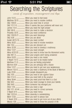 Emergency bible numbers!