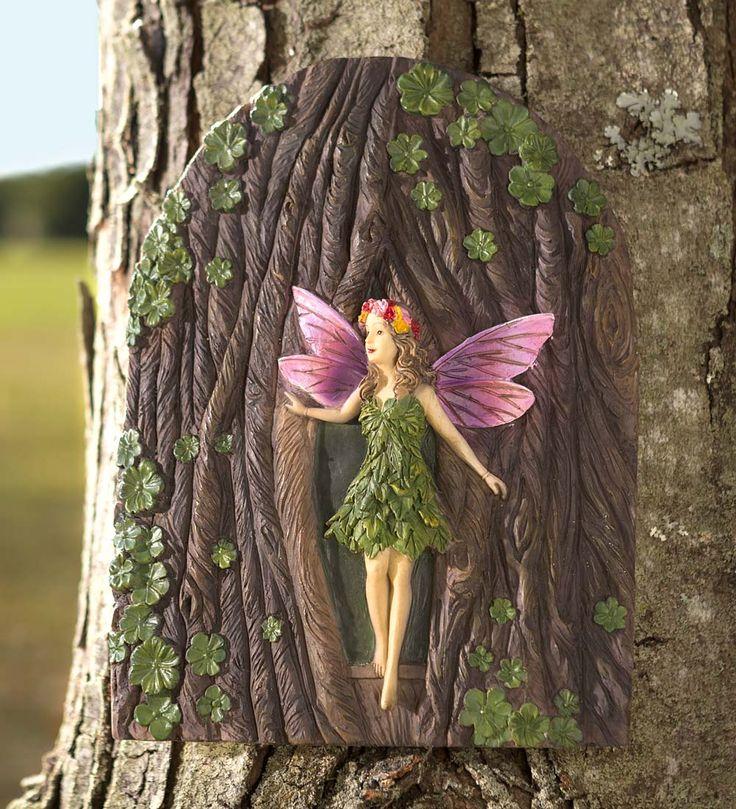 Miniature Fairy Garden Tree Fairy   Miniature Fairy Gardens   Fairy Garden, Fairy  Garden Supplies