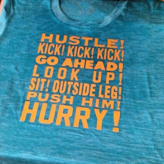 Dynasty Equine - Hustle Kick Go Ahead Turquoise fitted burnout (short sleeve), $30.00 (http://stores.ranchdressn.com/hustle-kick-go-ahead-turquoise-fitted-burnout-short-sleeve/)