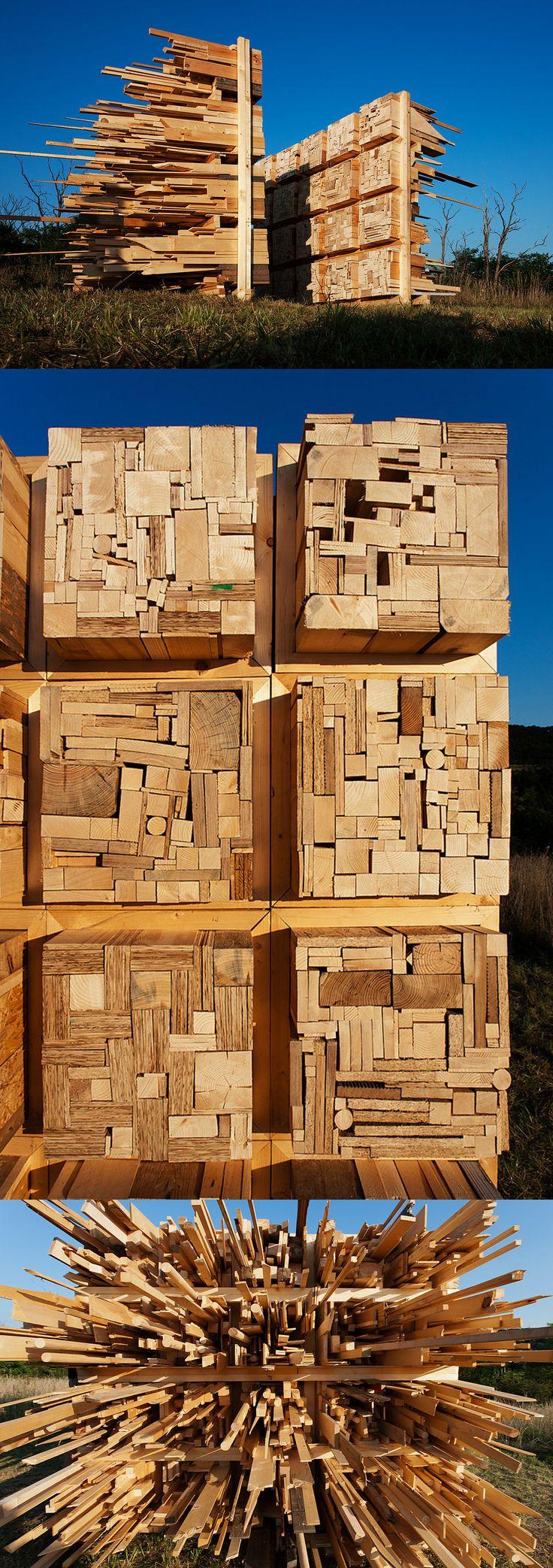 """Annual student """"woodworks"""" in Hungary - Certamen anual de construcciones de madera por parte de alumnos, en Hungría  //  Hello Wood 2014 Invites Student Teams to 'Play With Balance'"""